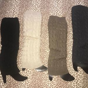 Accessories - New Cable Knit Sweater Leg Warmers